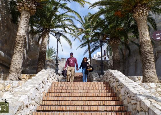 Mediterranean stairs