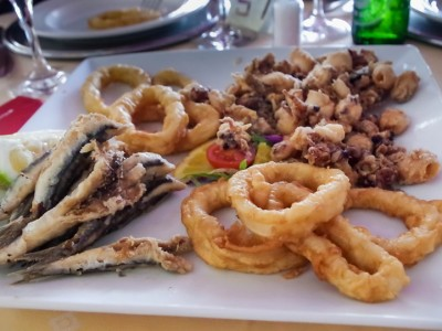 Must eat during hunting trip to Spain: sea food