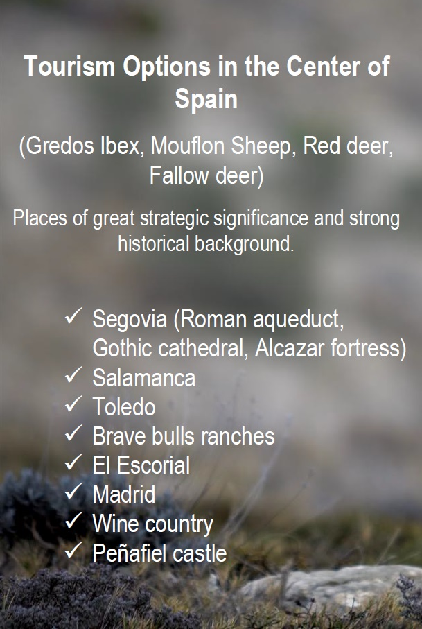 Hunting and touring in Spain