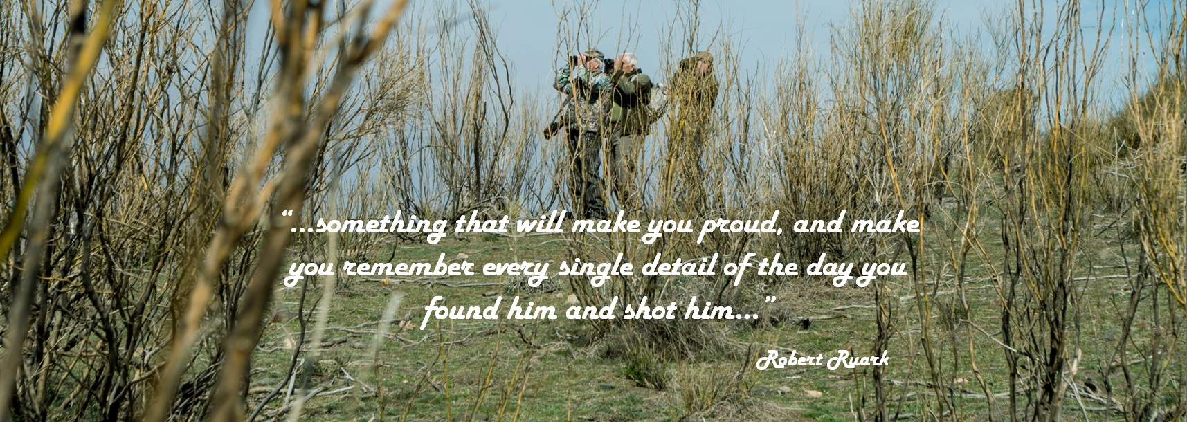 Quotes on hunting