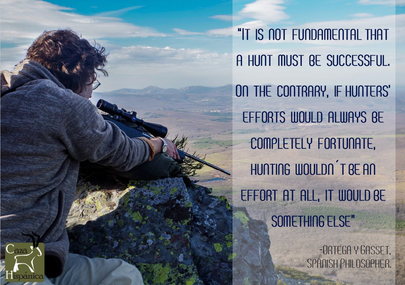 10 Hunting wallpapers and quotes made in Spain - Caza Hispánica