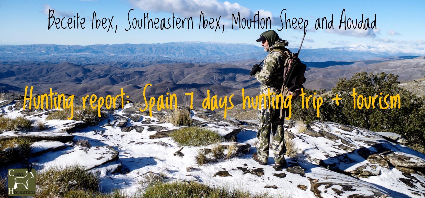 Spain hunting report