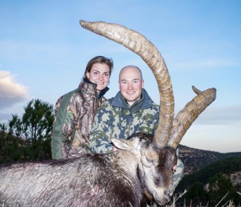 Young hunters for Spanish Ibex