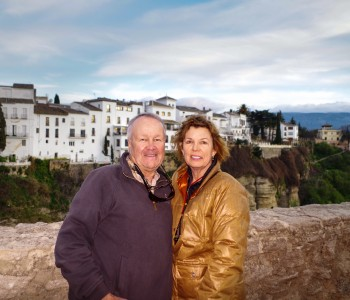 Bob and Jan Zaiglin, Spain
