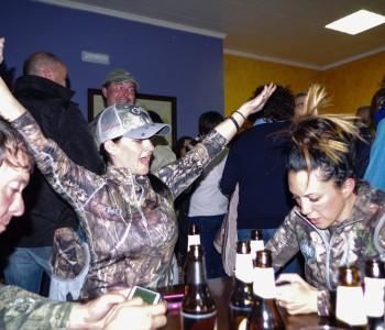 Celebrating the hunt
