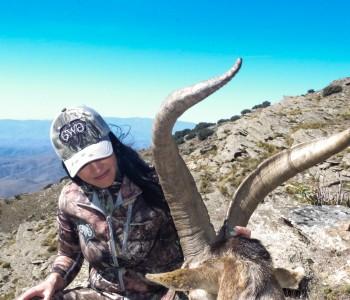 Jen O'Hara, Ibex hunt Spain