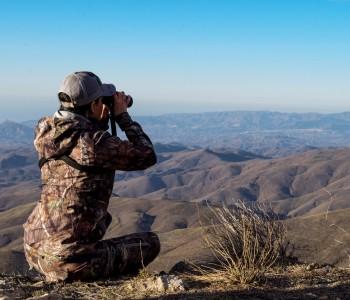 Southeastern Ibex hunting area